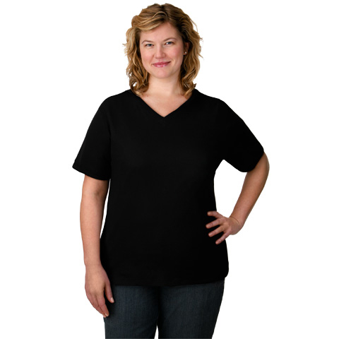 Plus Size V-Neck Shirt