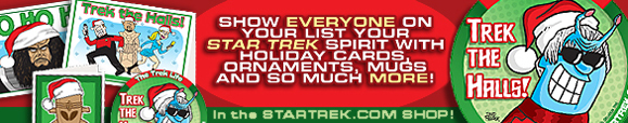 Cool Star Trek Holiday Gear!